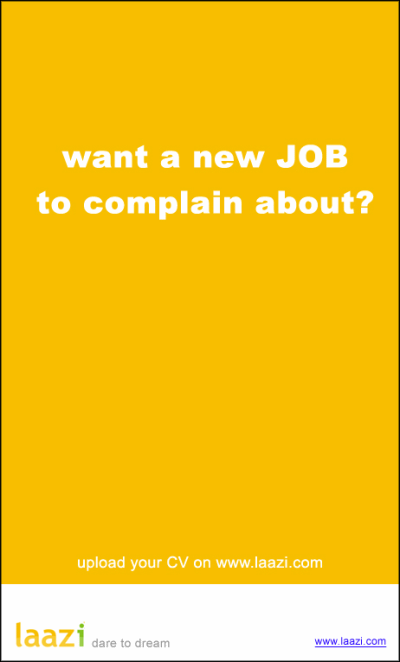 Laazi-want-new-job-to-complain-about-creative-job-ad